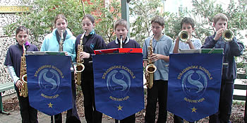 Instrumental Music Students